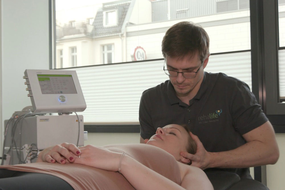 Physiotherapeut Behandlung Berlin Steglitz